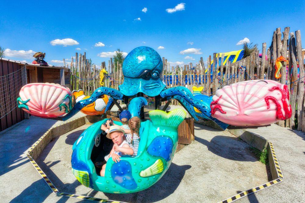 Poulpe pieuvre bleu Kingoland