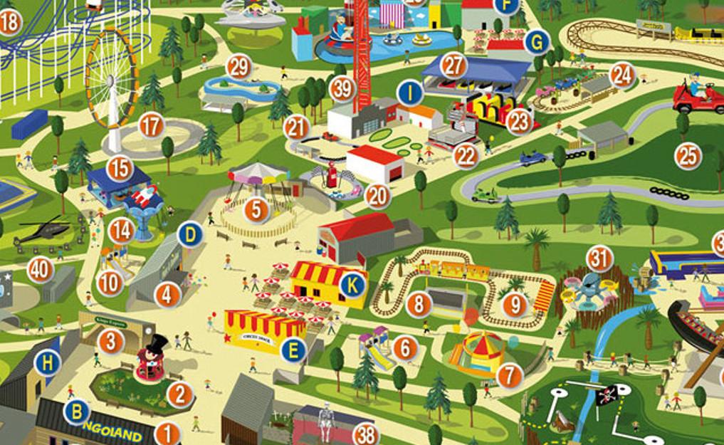Carte Cezam Kingoland.Accueil Parc Attractions Morbihan Kingoland