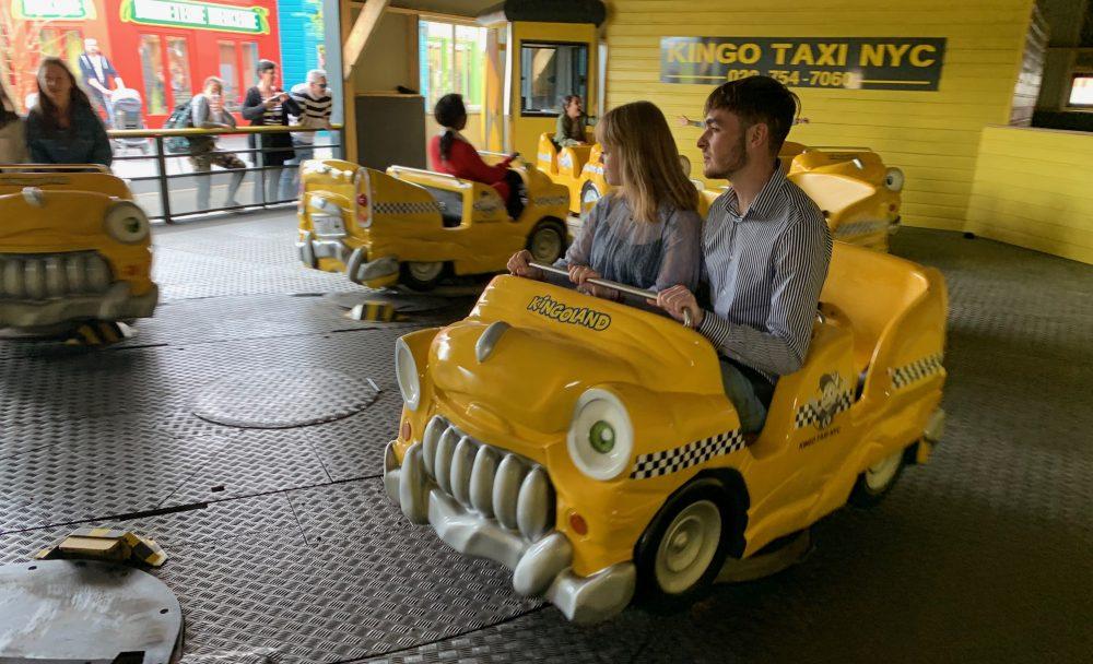 Crazy taxi Kingoland vitesse